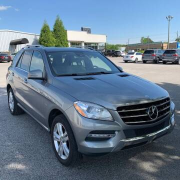 2012 Mercedes-Benz M-Class for sale at I-80 Auto Sales in Hazel Crest IL