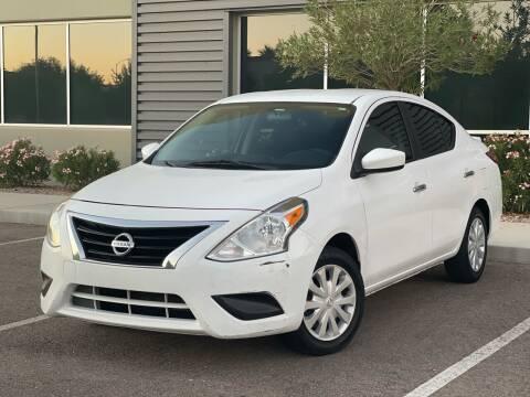 2017 Nissan Versa for sale at AZ Auto Gallery in Mesa AZ