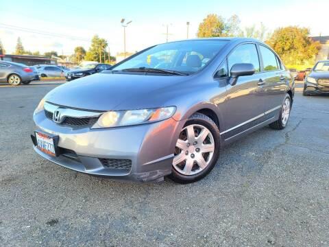 2010 Honda Civic for sale at City Motors in Hayward CA