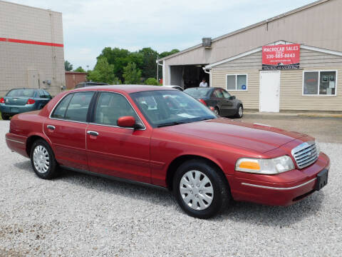 2000 Ford Crown Victoria for sale at Macrocar Sales Inc in Akron OH