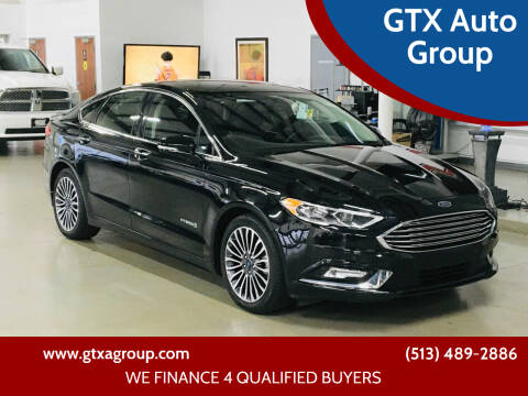 2018 Ford Fusion Hybrid for sale at GTX Auto Group in West Chester OH