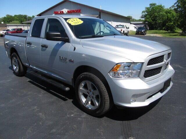 2017 RAM Ram Pickup 1500 for sale at Thompson Motors LLC in Attica NY