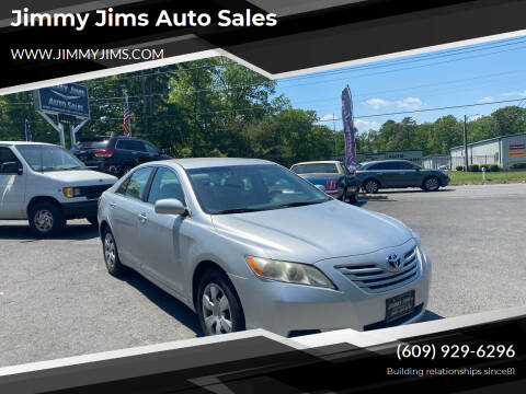 2008 Toyota Camry for sale at Jimmy Jims Auto Sales in Tabernacle NJ