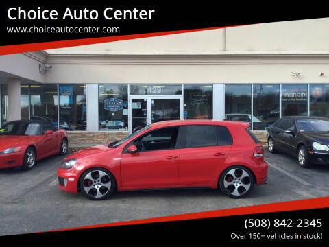 2013 Volkswagen GTI for sale at Choice Auto Center in Shrewsbury MA