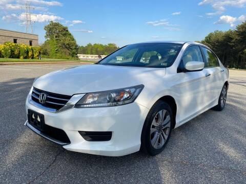 2013 Honda Accord for sale at Triple A's Motors in Greensboro NC