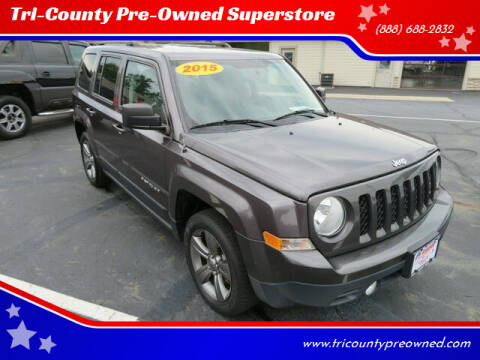 2015 Jeep Patriot for sale at Tri-County Pre-Owned Superstore in Reynoldsburg OH