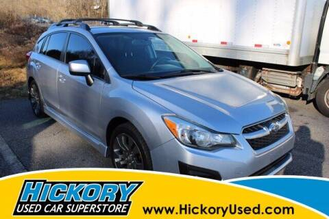 2012 Subaru Impreza for sale at Hickory Used Car Superstore in Hickory NC