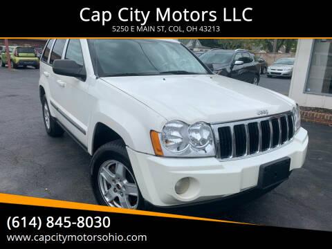2007 Jeep Grand Cherokee for sale at Cap City Motors LLC in Columbus OH