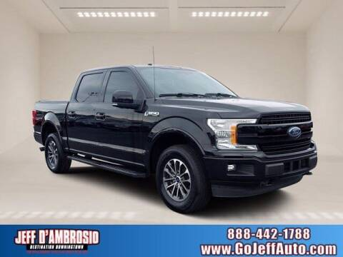 2018 Ford F-150 for sale at Jeff D'Ambrosio Auto Group in Downingtown PA