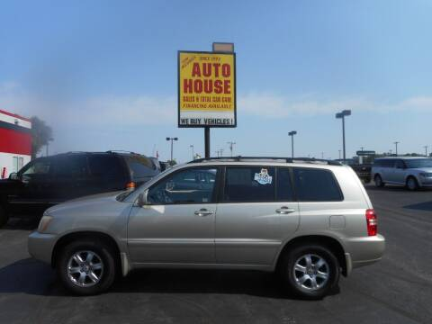 2001 Toyota Highlander for sale at AUTO HOUSE WAUKESHA in Waukesha WI
