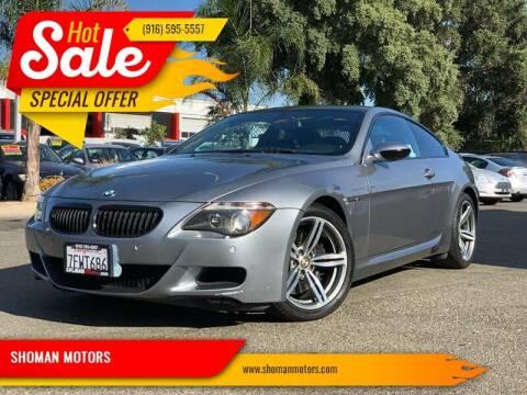 2007 BMW M6 for sale at SHOMAN MOTORS in Davis CA
