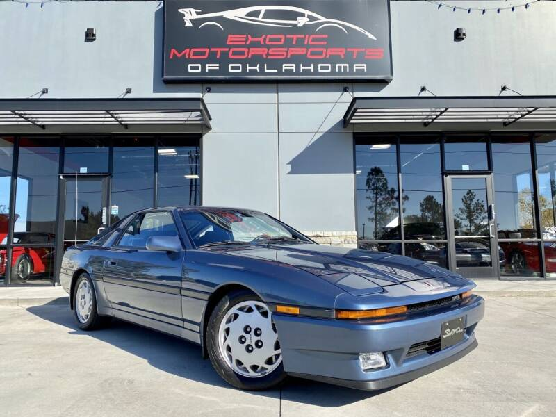 1986 Toyota Supra for sale at Exotic Motorsports of Oklahoma in Edmond OK
