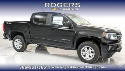 2021 Chevrolet Colorado for sale at ROGERS  AUTO  GROUP in Chicago IL