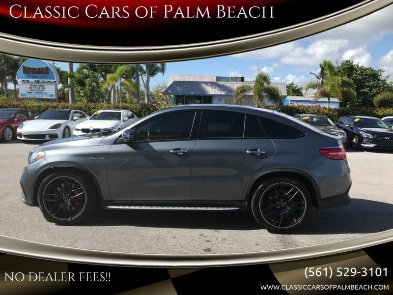 2019 Mercedes-Benz GLE for sale at Classic Cars of Palm Beach in Jupiter FL