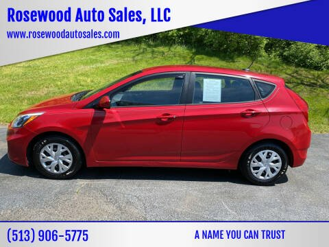 2016 Hyundai Accent for sale at Rosewood Auto Sales, LLC in Hamilton OH