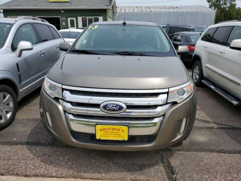 2013 Ford Edge for sale at Brothers Used Cars Inc in Sioux City IA