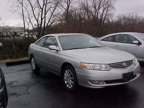 2002 Toyota Camry Solara for sale at Bates Auto & Truck Center in Zanesville OH