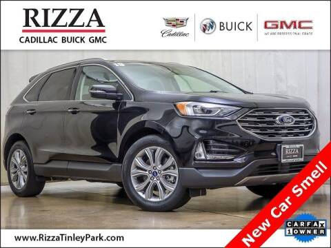 2019 Ford Edge for sale at Rizza Buick GMC Cadillac in Tinley Park IL