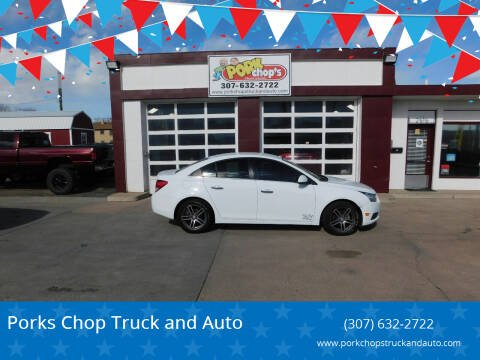 2014 Chevrolet Cruze for sale at Pork Chops Truck and Auto in Cheyenne WY