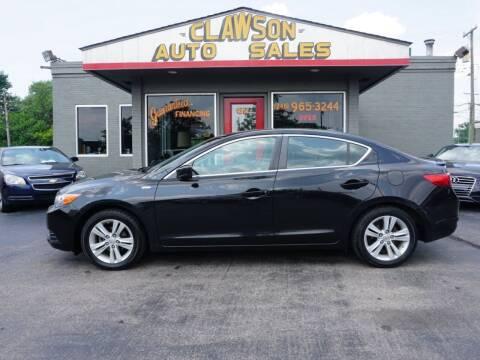 2013 Acura ILX for sale at Clawson Auto Sales in Clawson MI