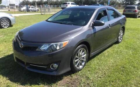 2012 Toyota Camry for sale at MISSION AUTOMOTIVE ENTERPRISES in Plant City FL