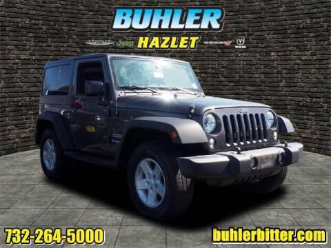 2017 Jeep Wrangler for sale at Buhler and Bitter Chrysler Jeep in Hazlet NJ