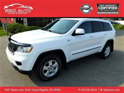 2013 Jeep Grand Cherokee for sale at B&D Auto Sales Inc in Grand Rapids MI