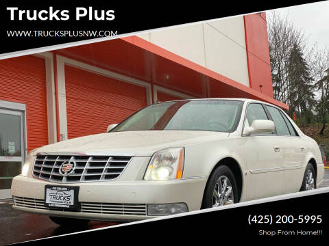 2009 Cadillac DTS for sale at Trucks Plus in Seattle WA