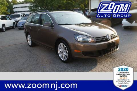 2012 Volkswagen Jetta for sale at Zoom Auto Group in Parsippany NJ