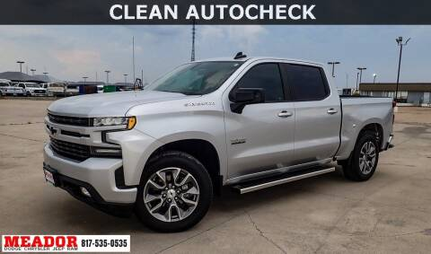 2020 Chevrolet Silverado 1500 for sale at Meador Dodge Chrysler Jeep RAM in Fort Worth TX