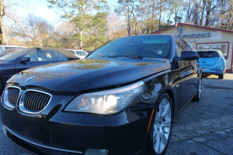 2010 BMW 5 Series for sale at E-Motorworks in Roswell GA