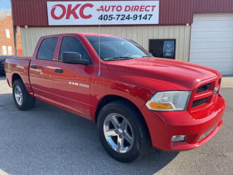 2012 RAM Ram Pickup 1500 for sale at OKC Auto Direct in Oklahoma City OK