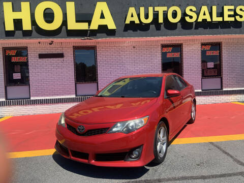 2012 Toyota Camry for sale at HOLA AUTO SALES CHAMBLEE- BUY HERE PAY HERE - in Atlanta GA