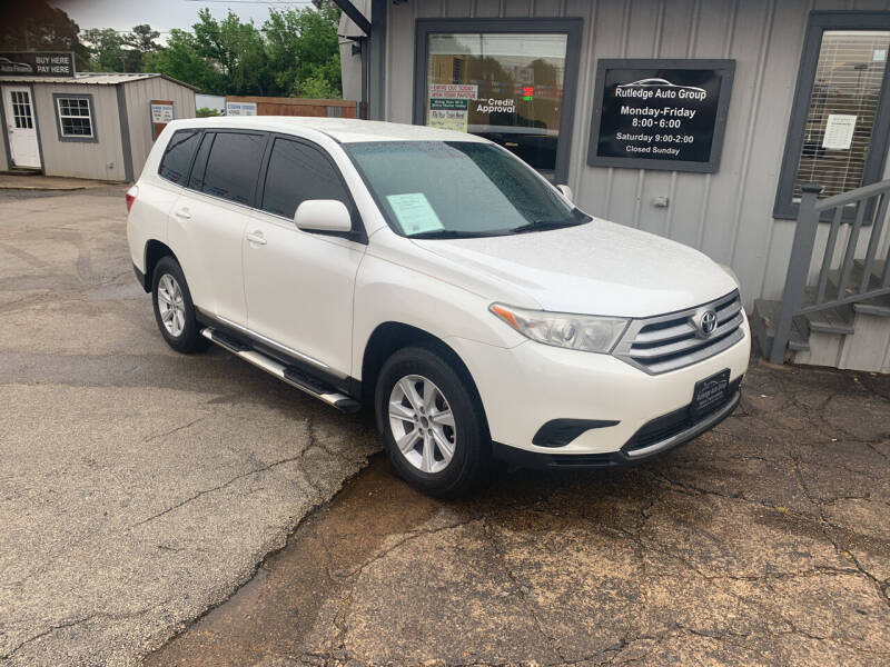 2013 Toyota Highlander for sale at Rutledge Auto Group in Palestine TX