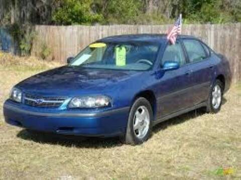 2004 Chevrolet Impala for sale at Route 28 Auto Sales in Canton MA