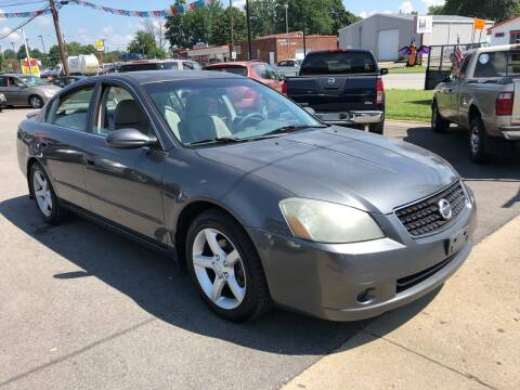 2006 Nissan Altima for sale at Wise Investments Auto Sales in Sellersburg IN