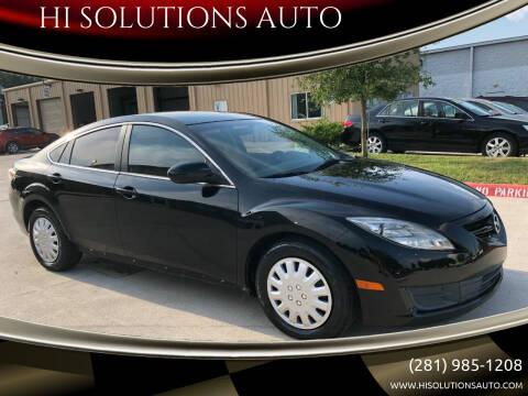 2009 Mazda MAZDA6 for sale at HI SOLUTIONS AUTO in Houston TX