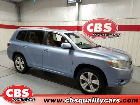 2008 Toyota Highlander for sale at CBS Quality Cars in Durham NC