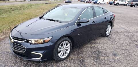 2016 Chevrolet Malibu for sale at Adams Enterprises in Knightstown IN