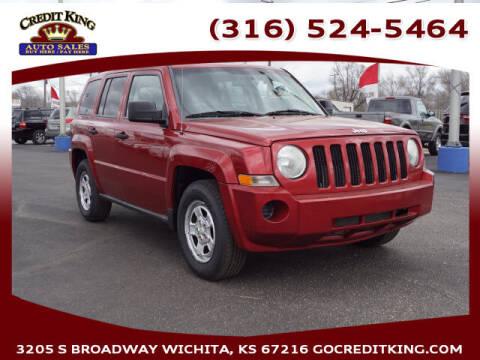 2007 Jeep Patriot for sale at Credit King Auto Sales in Wichita KS