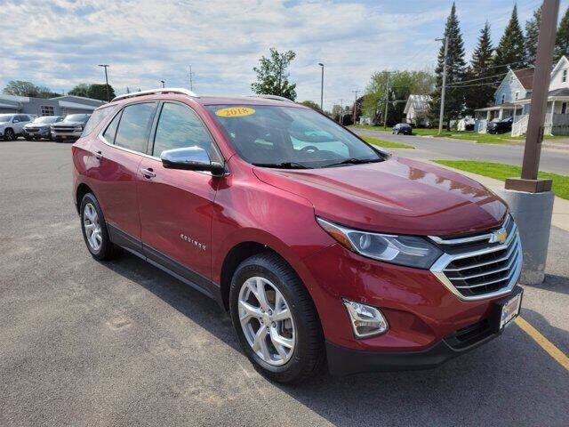 2018 Chevrolet Equinox for sale at Frenchie's Chevrolet and Selects in Massena NY
