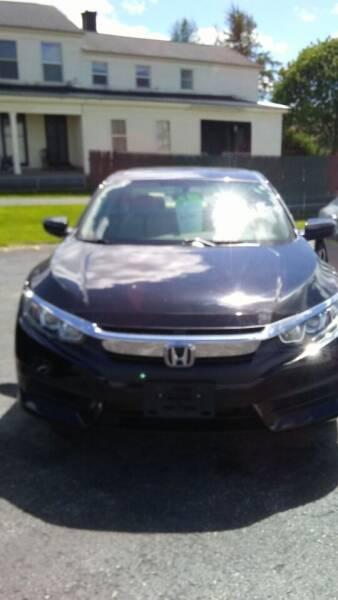 2016 Honda Civic for sale at Clinton Auto Service - Sales in Clinton NY