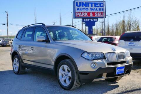 2007 BMW X3 for sale at United Auto Sales in Anchorage AK