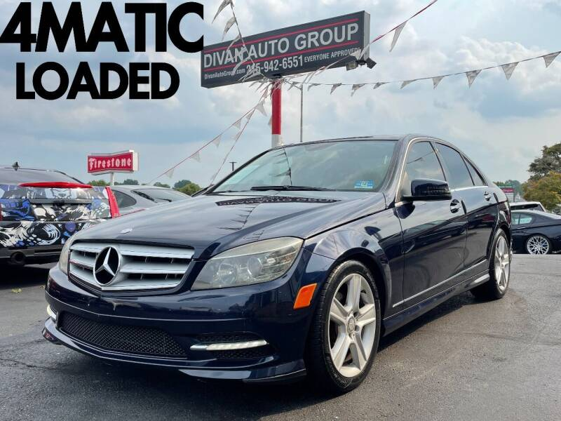 2011 Mercedes-Benz C-Class for sale at Divan Auto Group in Feasterville Trevose PA