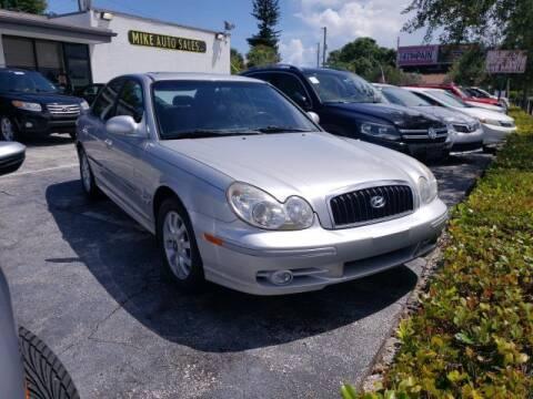 2005 Hyundai Sonata for sale at Mike Auto Sales in West Palm Beach FL