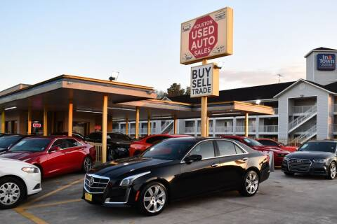2014 Cadillac CTS for sale at Houston Used Auto Sales in Houston TX