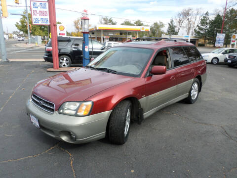 2002 Subaru Outback for sale at Premier Auto in Wheat Ridge CO