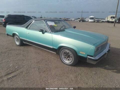 1982 GMC Caballero for sale at OVE Car Trader Corp in Tampa FL