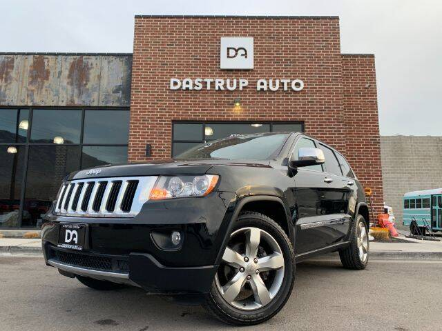 2013 Jeep Grand Cherokee for sale at Dastrup Auto in Lindon UT