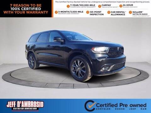 2017 Dodge Durango for sale at Jeff D'Ambrosio Auto Group in Downingtown PA